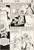 Original Comic Art:Panel Pages, Gil Kane and Murphy Anderson The Atom #4 Story Page 6Original Art (DC, 1963)....