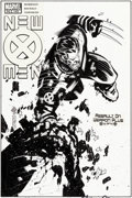 Original Comic Art:Covers, Chris Bachalo New X-Men #145 Cover Recreation Original Art(2006)....