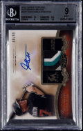 Baseball Cards:Singles (1970-Now), 2012 Topps Tier One Giancarlo Stanton Autograph Relic /99 #GST BGS Mint 9 - 10 Autograph. ...