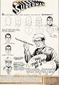 Original Comic Art:Splash Pages, Ross Andru and Mike Esposito Superman #211 Splash Page 1Original Art (DC, 1968)....