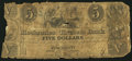 Obsoletes By State:Ohio, Cincinnati,OH- Mechanics and Traders Bank $5 Jan. 21, 1840. ...