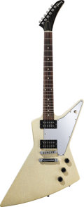 Musical Instruments:Electric Guitars, 2001 Gibson Explorer Silver Sparkle Solid Body Electric Guitar,Serial #01001688....