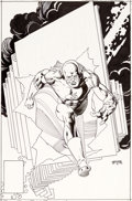 Original Comic Art:Covers, Gil Kane The Flash Unpublished Cover Original Art (DC, c.1980s)....