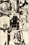 Original Comic Art:Panel Pages, Dave Gibbons Watchmen #7 Story Page 21 Nite Owl and SilkSpectre Original Art (DC, 1987). ...
