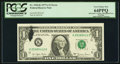 Error Notes:Ink Smears, Ink Smear Fr. 1910-K $1 1977A Federal Reserve Note. PCGS VeryChoice New 64PPQ.. ...