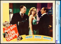"""Movie Posters:Comedy, Love Happy (United Artists, 1949). CGC Graded Lobby Card (11"""" X14"""").. ..."""