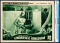 "Movie Posters:Serial, Undersea Kingdom (Republic, 1936). Lobby Card (11"" X 14"") Chapter 7-- ""The Submarine Trap."". ..."