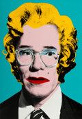 Fine Art - Work on Paper:Print, Mr. Brainwash (b. 1966). Warhol, 2010. Screenprint withacrylic in colors on BFK Rives paper. 30 x 22-1/2 inches (76.2 x...