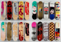 Fine Art - Work on Paper:Print, After Andy Warhol . Set of Ten Skateboard Decks.Screenprints on skate decks. 32 x 8 inches (81.3 x 20.3 cm) (each).Pub... (Total: 10 Items)