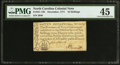 Colonial Notes:North Carolina, North Carolina December, 1771 10s PMG Choice Extremely Fine 45.....
