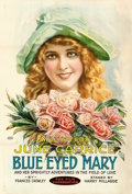 "Movie Posters:Drama, Blue-Eyed Mary (Fox, 1918). One Sheet (27"" X 41"") Portrait Style....."
