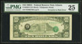 Error Notes:Third Printing on Reverse, Overprint on Back Error. Fr. 2028-F $10 1988A Federal Reserve Note. PMG Very Fine 25.. ...