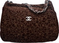 "Luxury Accessories:Bags, Chanel Brown Camellia Suede Shoulder Bag. Condition: 2.16"" Width x 12"" Height x 5"" Depth. ..."