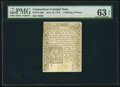 Colonial Notes:Connecticut, Connecticut June 19, 1776 1s 6d PMG Choice Uncirculated 63 EPQ.. ...
