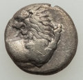 Ancients:Ancient Lots  , Ancients: GROUP LOTS. Greek. Lot of two (2) AR hemidrachms.Fine-About VF.... (Total: 2 coins)