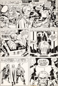 Original Comic Art:Panel Pages, Jack Kirby and D. Bruce Berry OMAC #2 Page 13 Original Art(DC, 1974)....