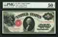 Large Size:Legal Tender Notes, Fr. 36 $1 1917 Legal Tender PMG About Uncirculated 50 EPQ.. ...