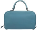 """Luxury Accessories:Bags, Hermes 25cm Blue Jean Epsom Leather Sac Envi Bag with Palladium Hardware. J Square, 2006. Condition: 3. 10"""" Width ..."""