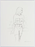 "Original Comic Art:Sketches, John Bolton ""Emma Frost"" Sketch Original Art (undated)...."