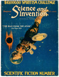 Pulps:Science Fiction, Science and Invention #124 (Experimenter Publishing Co., 1923) Condition: FR....