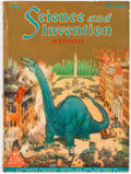 Pulps:Science Fiction, Science and Invention #145 (Experimenter Publishing Co., 1925) Condition: VG....