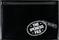 "Movie Posters:Thriller, The Ipcress File (Universal, 1965). Presskit (Case: 10.25"" X15.25"") with Color Photo Set of 8 (9.5"" X 12""), Deluxe Photos (..."