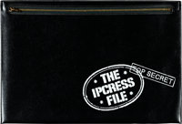 """The Ipcress File (Universal, 1965). Presskit (Case: 10.25"""" X 15.25"""") with Color Photo Set of 8 (9.5"""" X 12..."""