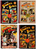 Golden Age (1938-1955):Religious, Picture Stories from the Bible Group of 13 (EC, 1940s) Condition:Average VG.... (Total: 13 Comic Books)