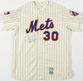 """Autographs:Jerseys, Nolan Ryan Signed """"Cooperstown Collection"""" Flannel Jersey. ..."""