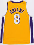 Basketball Collectibles:Others, 2000's Kobe Bryant Signed Los Angeles Lakers Jersey....