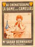 "Movie Posters:Drama, La Dame aux Camille (Le Film d'Art, 1912). French Grande (47"" X63"").. ..."