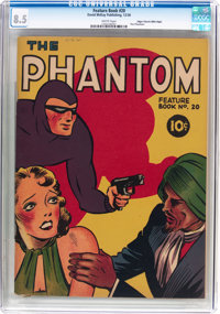 Feature Books #20 The Phantom - Mile High Pedigree (David McKay Publications, 1938) CGC VF+ 8.5 White pages