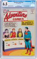 Silver Age (1956-1969):Superhero, Adventure Comics #247 (DC, 1958) CGC FN+ 6.5 Cream to off-whitepages....
