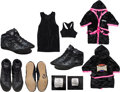Miscellaneous Collectibles:General, 2002 Olga Korbut Celebrity Boxing Ring Gear with Robe & Shoes. ...