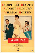 "Movie Posters:Romance, Sabrina (Paramount, 1954). One Sheet (27"" X 41"").. ..."