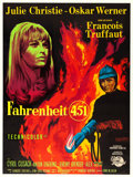 "Movie Posters:Science Fiction, Fahrenheit 451 (Universal International, 1967). French Grande(45.5"" X 61"") Guy Gerard Noel Artwork.. ..."