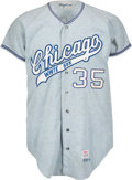 Baseball Collectibles:Uniforms, 1970 Gail Hopkins Game Worn Chicago White Sox Jersey....