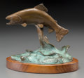 Fine Art - Sculpture, American:Contemporary (1950 to present), Clark Everice Bronson (American, b. 1939). Spirit, 1980.Bronze with polychrome. 5-1/2 inches (14.0 cm) high on a 1/2 in...