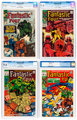 Fantastic Four Group of 4 (Marvel, 1967-69) CGC VF/NM 9.0.... (Total: 4 Comic Books)