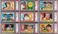 Baseball Cards:Sets, 1960 Topps Baseball Complete Set (572) with Mantle PSA NM-MT 8. ...