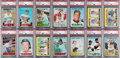 Baseball Cards:Sets, 1967 Topps Baseball Mid To High Grade Complete Set (609) With NM-MTCarew & Seaver Rookies. ...
