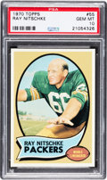 Football Cards:Singles (1970-Now), 1970 Topps Ray Nitschke #55 PSA Gem Mint 10....