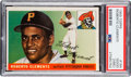 Baseball Cards:Singles (1950-1959), 1955 Topps Roberto Clemente #164 PSA Good 2 (MC)....