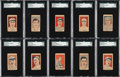 Baseball Cards:Sets, 1926 W512 Anonymous Baseball Players SGC-Graded Complete Set (10). ...