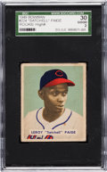 Baseball Cards:Singles (1940-1949), 1949 Bowman Satchell Paige #224 SGC 30 Good 2....