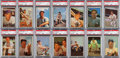 Baseball Cards:Sets, 1953 Bowman Baseball Complete Set (160) With 80 PSA Graded Cards....