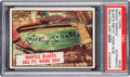 Autographs:Sports Cards, Signed 1961 Topps Mantle Blasts 565 FT. Home Run #406 PSA/DNAAuthentic. ...