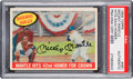 Autographs:Sports Cards, Signed 1959 Topps Mickey Mantle Hits 42nd... #461 PSA/DNAAuthentic....
