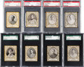 Baseball Cards:Lots, 1909 T204 Ramly Graded Collection (8) - Mostly Stars & HoFers....