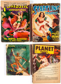 Pulps:Miscellaneous, Assorted Pulps Box Lot (Various, 1920s-50s) Condition: Average PR....